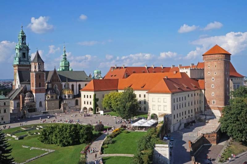 Historical center Cracow